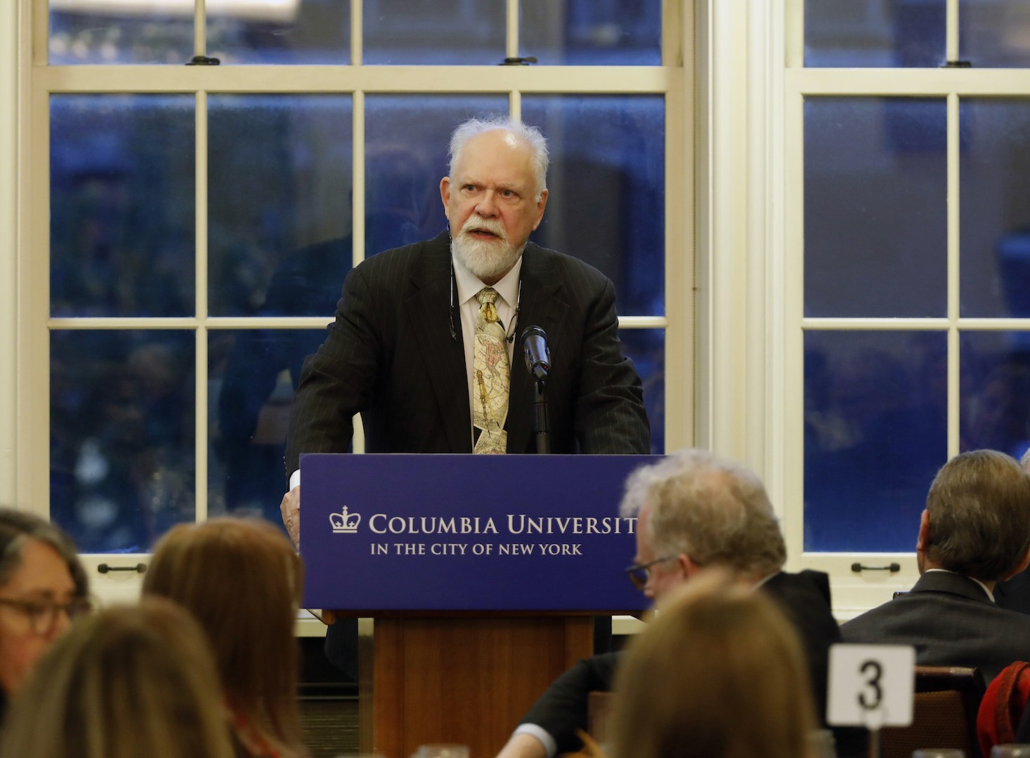 Retired Columbia U Prof. Richard Bulliet speaking